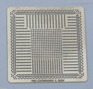 Sony-PS4-GPU-CXD90026G-Reballing-Solder-Direct-Heat-Stencil-Template-Playstation