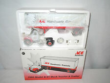 Ace Hardware Canada 1960 Model B-61 Mack Truck With Van Trailer  1/34th Scale