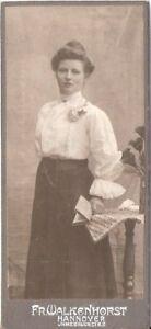 CDV Foto Feine Dame - Hannover um 1910 - Winsen Luhe, Deutschland - CDV Foto Feine Dame - Hannover um 1910 - Winsen Luhe, Deutschland