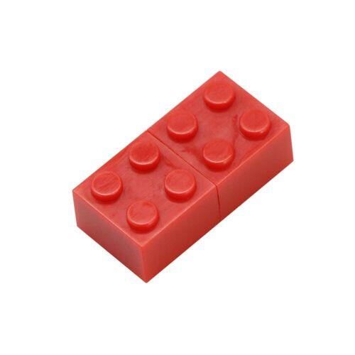 Civetman® Toy Brick Flash Drive 128GB USB Flash Drive 64GB Plastic
