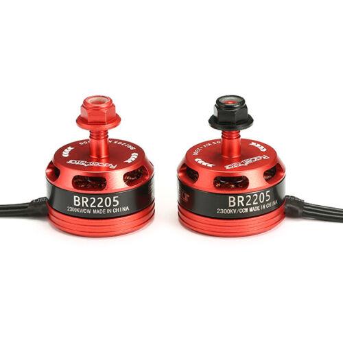 Racerstar Racing Edition 2205 BR2205 2300KV 2-4S Brushless Motor Red for 220