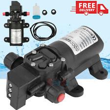 12volt 130psi High Pressure Diaphragm Water Pump Self Priming Withtube For Rv Boat
