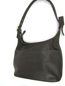 Vintage-COACH-Legacy-9058-Brown-Glove-Leather-Buckle-Hobo-Shoulder-Bag-Purse