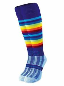 Hockey Socks WackySox Rainbow Warrior Sports Socks Rugby Socks