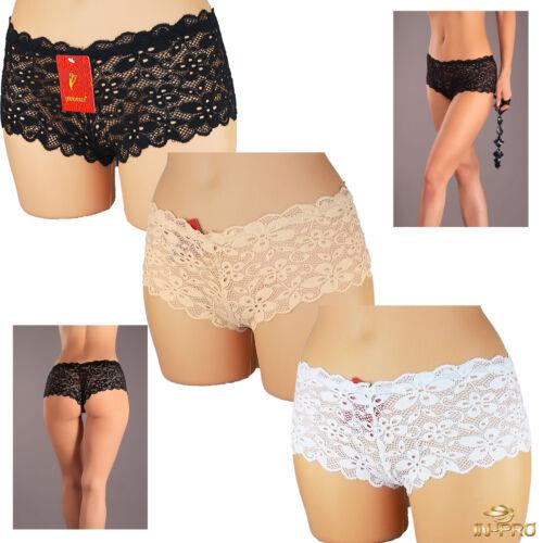55081 Damen Slips Slip Pants panties Hotpants String Dessous Panty
