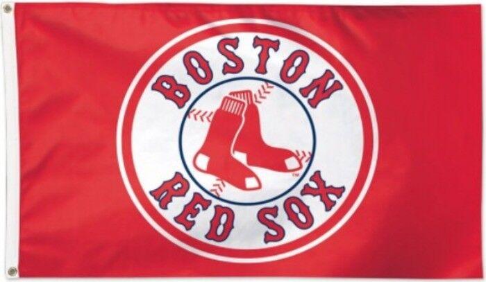 Flagge Flagge Flagge Hissflagge MLB Boston rot Sox 90 x 150 cm Fahne 4f00ce