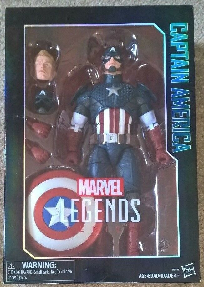 MARVEL LEGENDS Avengers Captain America 12 inch scaled figure