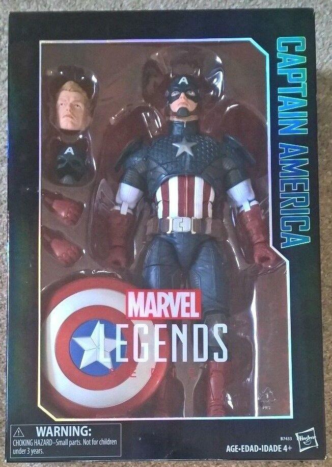 Marvel - legenden  captain america 12 zoll skalierte bild