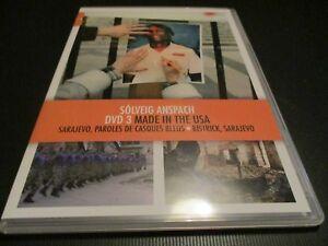 """DVD NEUF 3 DOCUS """"MADE IN THE USA / SARAJEVO PAROLES DE CASQUES BLEUS / BISTRICK"""