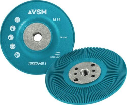 VSM M14 Teller Stützteller für Fiberscheiben 115-178mm f.Winkelschleifer Auswahl