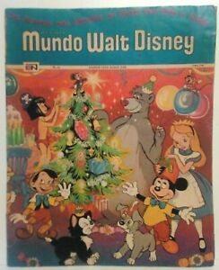 MUNDO-WALT-DISNEY-43-NOVARO-MEXICAN-1972-DISNEYLAND-CHRISTMAS-C-MICKEY-MOUSE