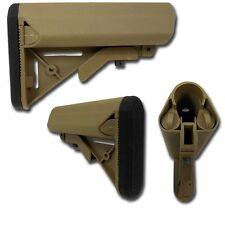 CALCIO SOFTAIR CRANE MK18 SERIE M4-CQB-HK416 MARUI TAN - SAS 2400T AIRSOFT STOCK