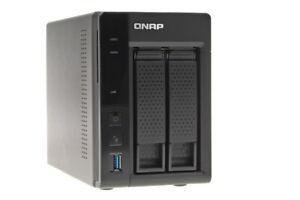 QNAP Turbo Station TS-253A // 2-Bay NAS // 4 GB // ohne Festplatten