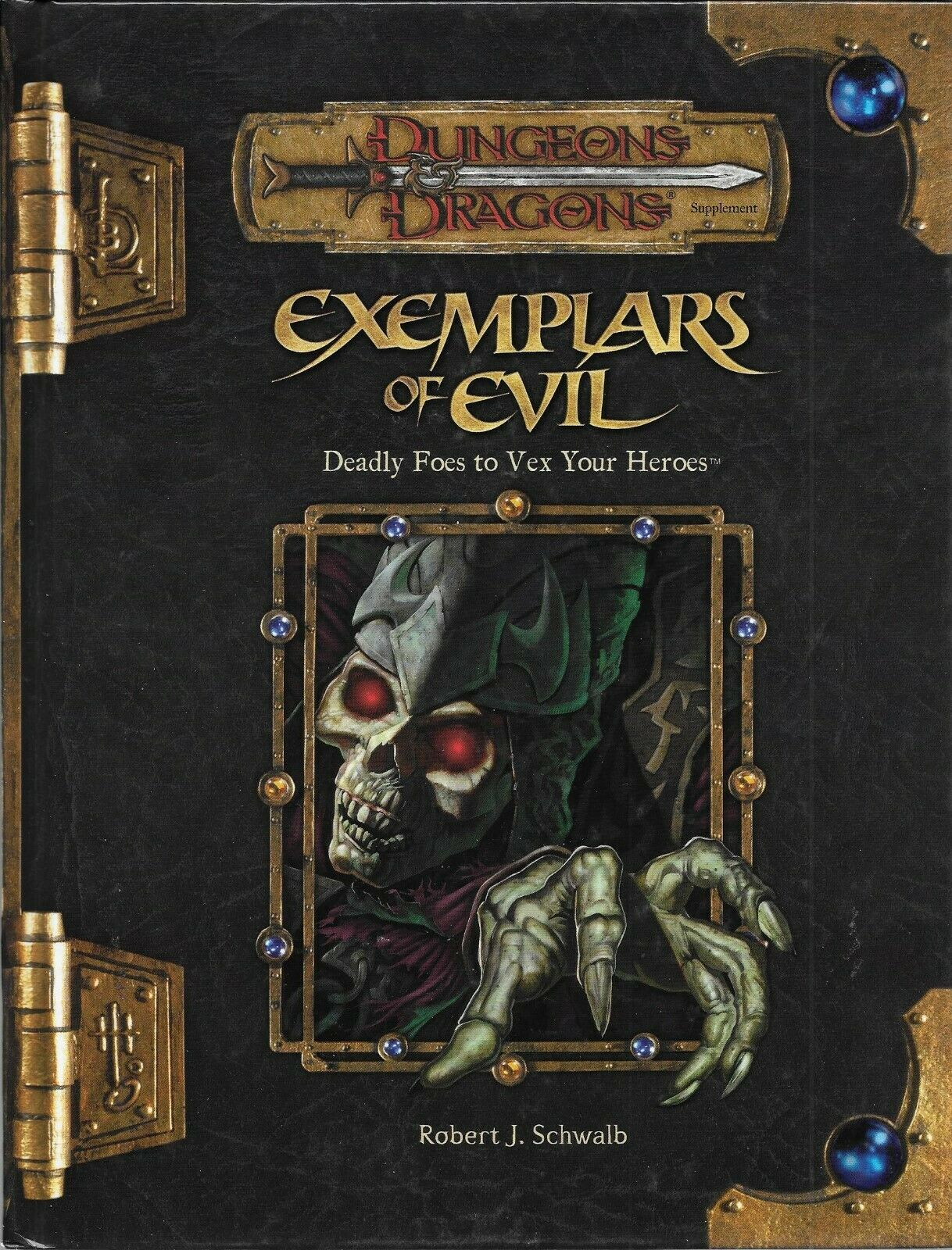 Dungeons & Dragons Exemplars of Evil  Deadly Foes to Vex Your Heroes 3.5 RPG d20