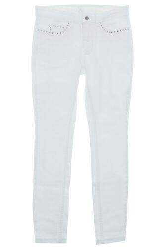 MAC Dream Skinny Damen Jeans Hose Pants Nieten Stretch Slim Fit Röhrenjeans