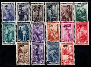 Triest-Zone-A-1950-Sass-89-104-Postfrisch-40-Italien-bei-der-Arbeit