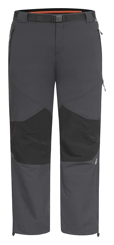Icepeak talla 50 caballeros pantalones  wanderhose Al aire libre trekking negro gris nuevo a6698  gran selección y entrega rápida