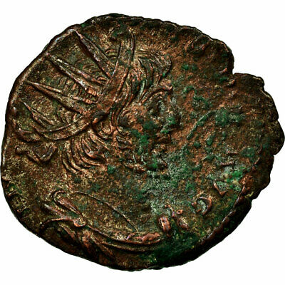 Victorinus Billon Bringing More Convenience To The People In Their Daily Life Coin Antoninianus Vf Trier Or Cologne #653715 30-35