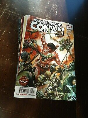 Marvel, 2020 Savage Sword Of Conan #12 NM