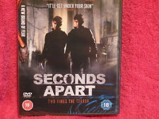 Seconds Apart (DVD, 2011) Two Times The Terror - Brand new/factory sealed!! NEW