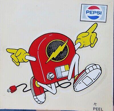 "Pepsi /""RUNAWAY RADIO/"" Bumper Sticker Houston Texas Radio 80s 101 KLOL"