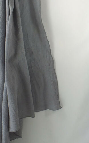 Hand Dyed Gray Muslin Swaddling Blanket 48 X 48 Light /& Airy Cotton Fabric