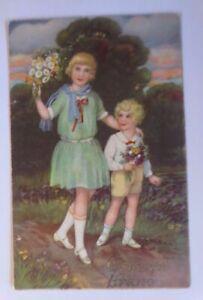 Geburtstag, Kinder, Mode, Blumen, 1930 ♥ (60578)