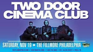 TWO-DOOR-CINEMA-CLUB-2016-PHILADELPHIA-CONCERT-TOUR-POSTER-Indie-Rock-Pop-Music