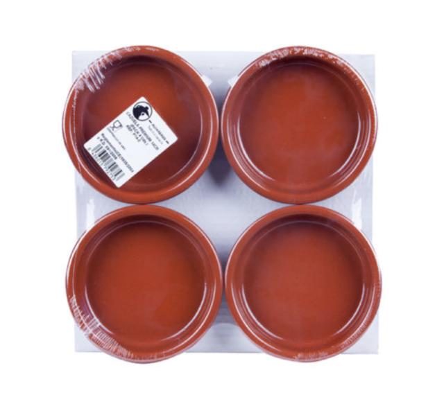 Rustic Cazuela Clay Pan 28 cm 11 inch