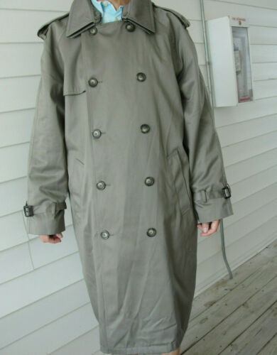 Ralph Lauren Trench coat Olive green Lined Size 4… - image 1