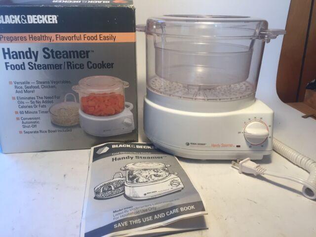 Black /& Decker HS80 Handy Steamer Rice Cooker