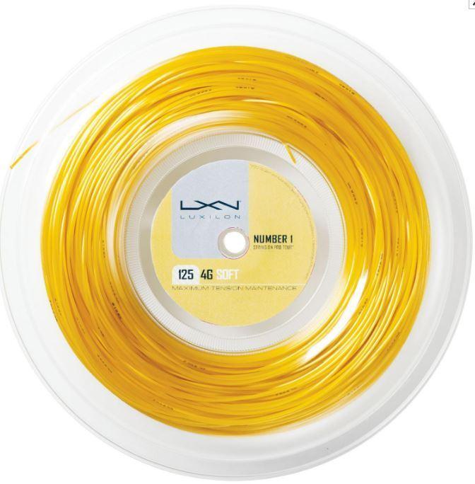 Luxilon Soft 4g Soft Luxilon 200 M Corde Tennis 17c247
