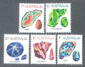 Section SpéCiale MinÉraux Lot De 5 Neuf Sans Charnière-australie --afficher Le Titre D'origine