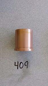 """Solid Bronze Shoulder Bushing, 1 1/4"""" D x 1 7/8"""" L Set of four"""