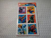 Marvel Spiderman Hallmark Stickers 4 Sheets