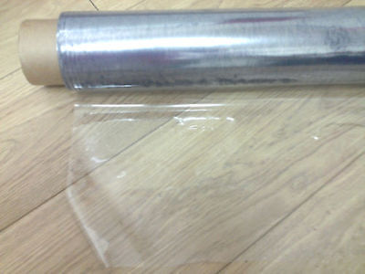 CLEAR PVC VINYL OILCLOTH TABLECLOTH WATERPROOF TABLE PROTECTOR COVERINGS