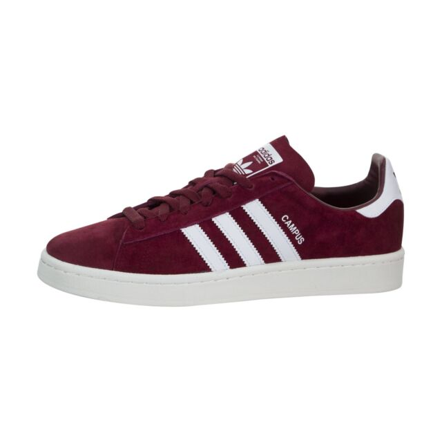 adidas Campus BZ0087 Mens Shoes Size: 9 US Red