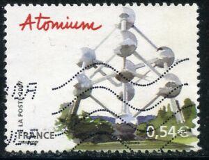 STAMP / TIMBRE FRANCE OBLITERE N° 4076 // BELGIQUE // BRUXELLES L'ATOMIUM
