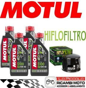 KIT TAGLIANDO 4 LT OLIO MOTUL 5100 10W40 + FILTRO BMW F 800 S  DAL 2006 AL 2010