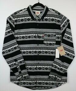NWT-Levi-s-Mens-Size-XXL-Southwestern-Norte-Button-Up-Shirt-Aztec