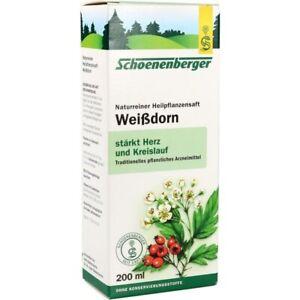 Schoenenberger-White-Thorn-Juice-Juice-200-ML-PZN-692386