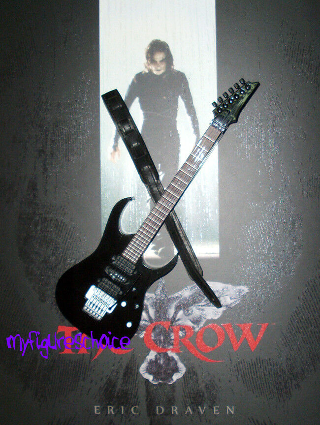 HOT TOYS - 1 6 The Crow Crow Crow  Eric Draven  Guitar w Strap b337c2