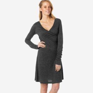 Prana-Wool-Blend-Faux-Wrap-Dress