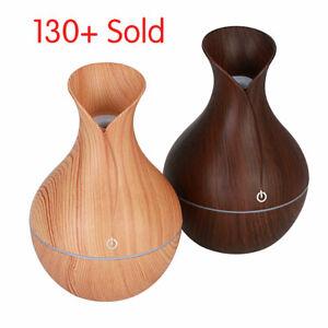 LED-USB-Wood-Grain-Ultrasonic-Air-Humidifier-Room-Aroma-Essential-Oil-Diffuser