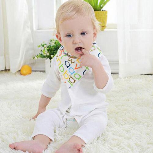 1//2pcs Newborn Baby Bibs Pure Cotton Bandana Feeding Kid Saliva Towel Burp Cloth