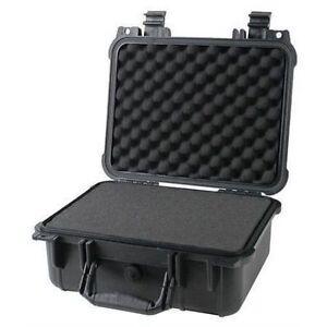 14-034-Weatherproof-Hard-Case-Dry-Box-For-DSLR-HD-Camera-w-Pelican-1400-Pluck-Foam