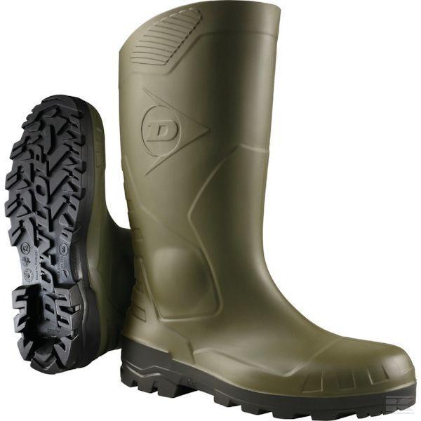 Genuine Dunlop Devon Stivali di sicurezza Stivali S5 VERDE H142611 SPEDIZIONE GRATUITA