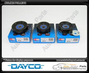 Nuline-Idler-amp-Tensioner-Pulley-kit-for-HOLDEN-COMMODORE-VT-3-8L-V6-L36