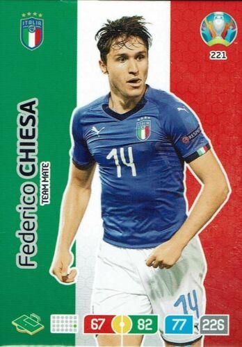 Panini Adrenalyn XL UEFA Euro em 2020 Team mate nº 221 Federico Chiesa