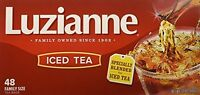 Luzianne For Iced Tea, 48-count Family Size Tea Bags, New, Free Shipping on Sale